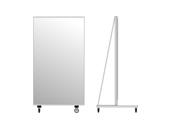 Rolling Stand Mirrors 190 x 100 cm