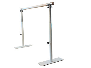 Height-adjustable initiation ballet barre
