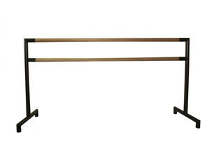 Professional double freestanding ballet barre 200 cm